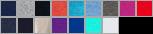 SF76R swatch palette