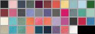 C9360 swatch palette