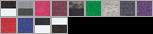 6137 swatch palette