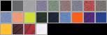 46000B swatch palette