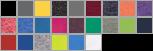 64500B swatch palette