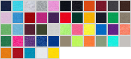3931B swatch palette