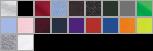 18600 swatch palette