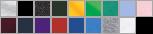 8800B swatch palette