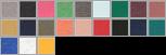 3413Y swatch palette