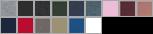 3727 swatch palette
