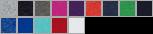 460R swatch palette