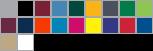 5505 swatch palette