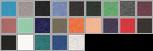 8430 swatch palette
