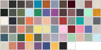 3001CVC swatch palette
