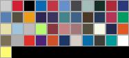 5180 swatch palette