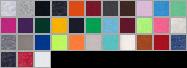 562 swatch palette