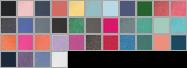 9018 swatch palette