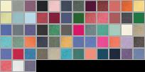 6030 swatch palette