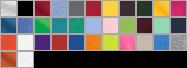 2000B swatch palette