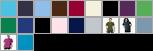 2001 swatch palette