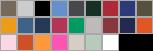 P160 swatch palette