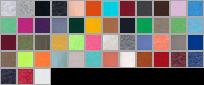 996 swatch palette