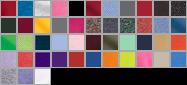 18500 swatch palette