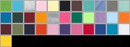 3401 swatch palette