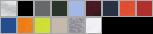 2300 swatch palette