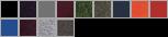 18800 swatch palette
