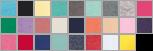 2616 swatch palette