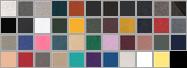 3739 swatch palette