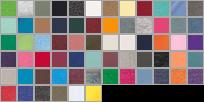6101 swatch palette