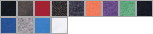64V00 swatch palette