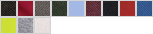 94800L swatch palette