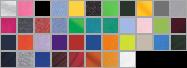 8000 swatch palette