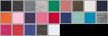 L2296 swatch palette