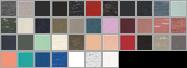 B8803 swatch palette