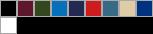 DG200W swatch palette